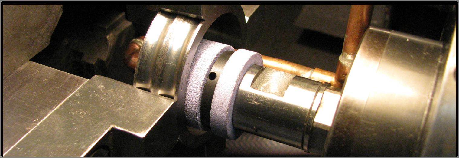 Ściernica składana z chłodzeniem odśrodkowym do szlifowania jednoprzejściowego otworów